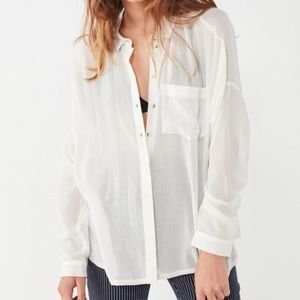 Urban Outfitters BDG Twill Button-Down Shirt